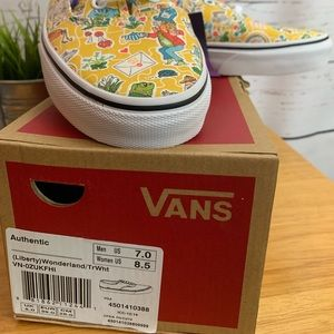 Vans X Liberty Alice in Wonderland